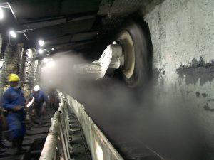 Kohleschürfen
