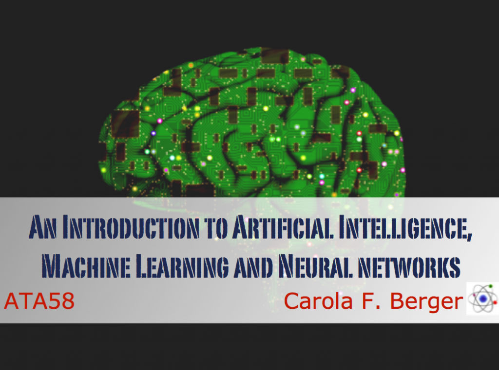 ST-7: An Introduction to Artificial Intelligence, Machine Learning, and Neural Networks